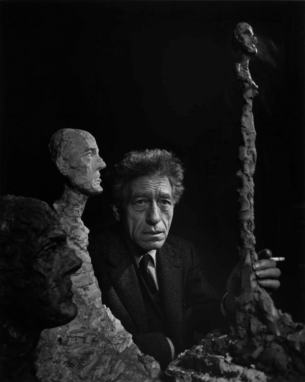 Alberto Giacometti (1965) by Yousuf Karsh