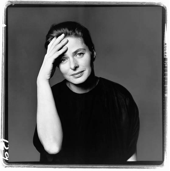Ingrid Bergman (New York, 1961) by Richard Avedon
