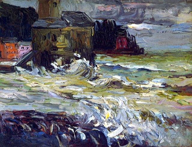 Wassily Kandinsky, Stormy Day, 1906