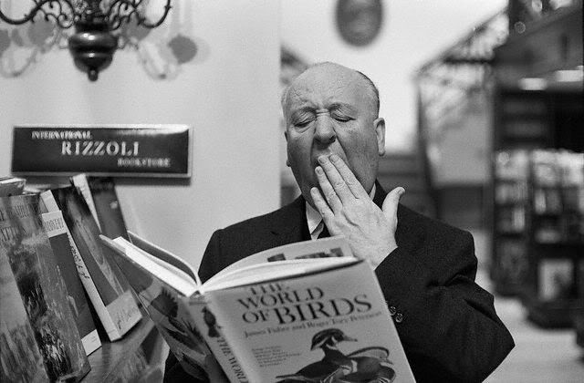 Alfred Hitchcock with The World Of Birds