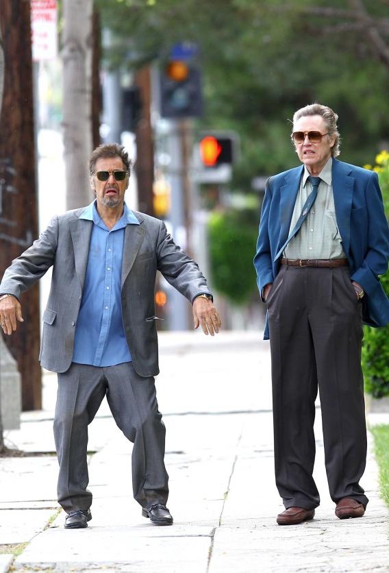 Al Pacino with Christopher Walken (2012)