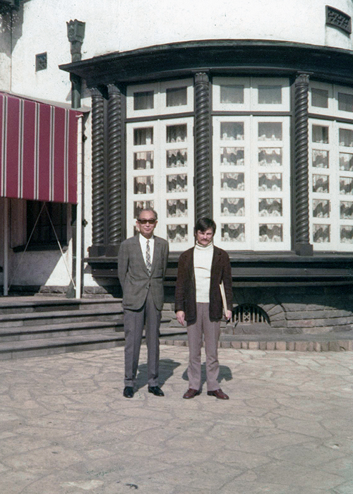Kurosawa with Tarkovsky