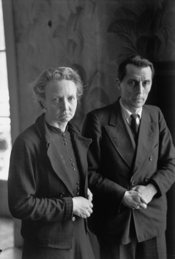 Irène and Frédéric Joliot-Curie