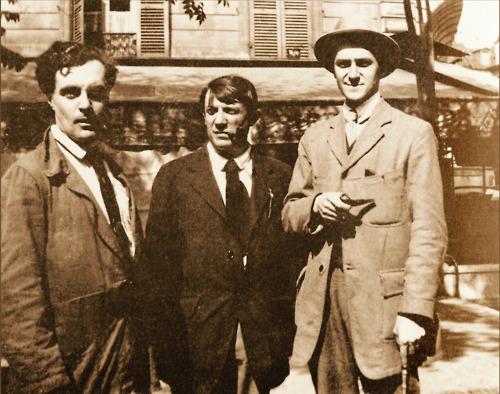 Modigliani, Picasso, Salmon