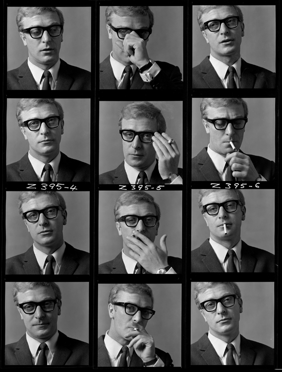 Michael Caine by Brian Duffy