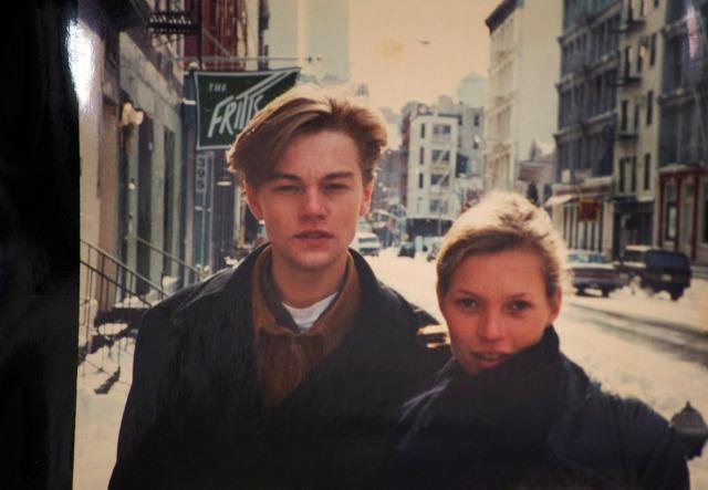 Leonardo DiCaprio with Kate Moss