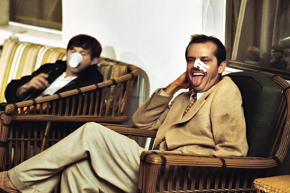 Jack Nicholson and Roman Polanski