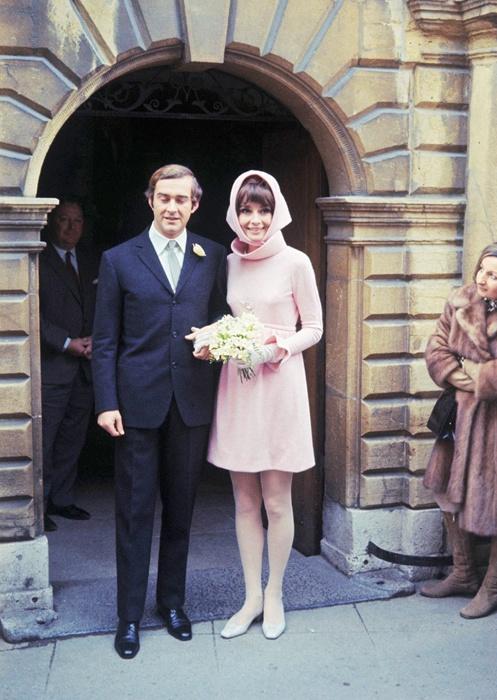 Audrey Hepburn with Andrea Dotti
