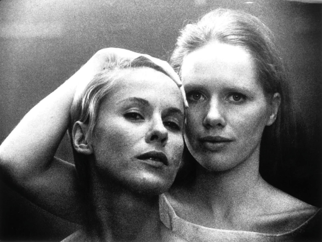 Bibi Andersson and Liv Ullmann