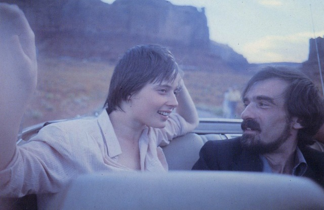 Martin Scorsese and Isabella Rossellini by Wim Wenders