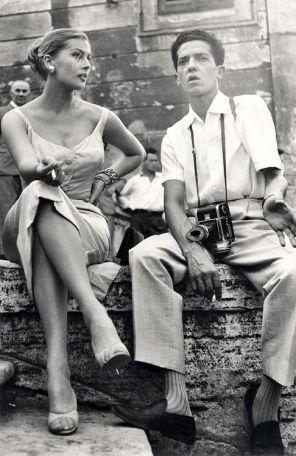Anita Ekberg with Pierluigi Praturlon