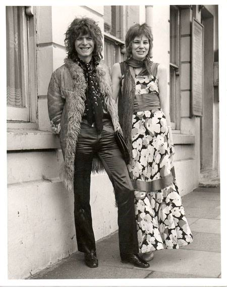 David and Angela Bowie