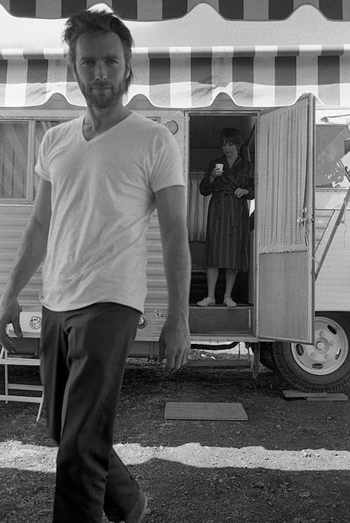 Clint Eastwood with Shirley MacLaine
