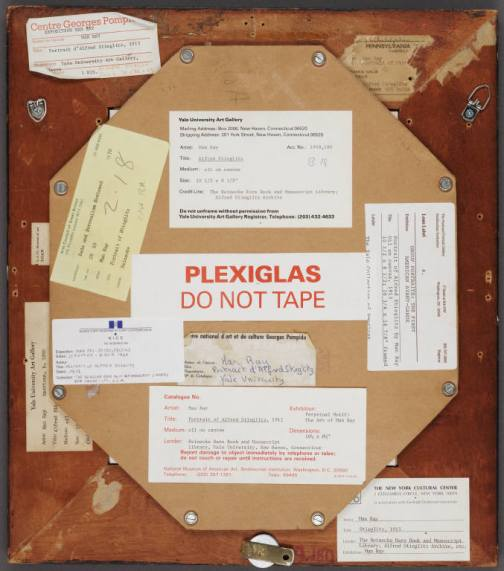 Alfred Stieglitz by Man Ray