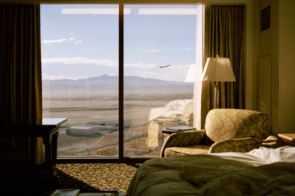 Plane, Las Vegas, Nevada (2007) by Kate Peters.