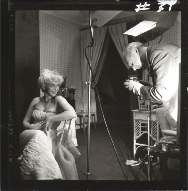 Marilyn Monroe with Cecil Beaton