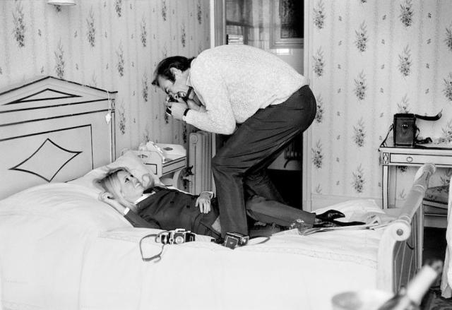Brigitte Bardot with Sean Connery