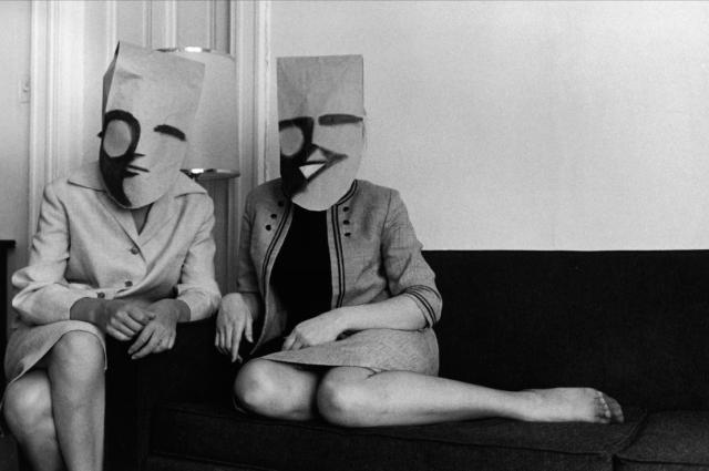 Masks by Saul Steinberg