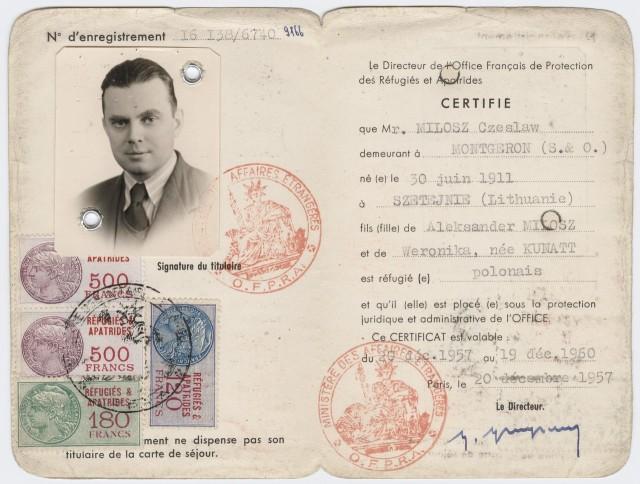 Milosz Czeslaw
