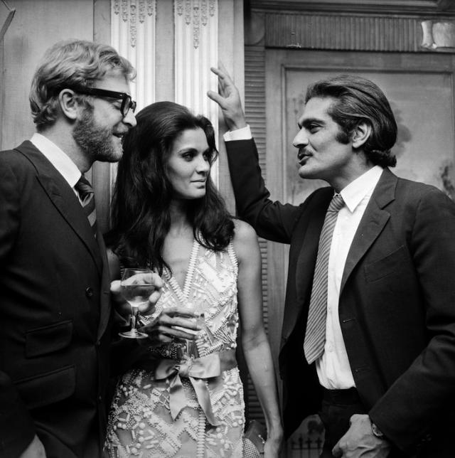 Michael Caine, Florinda Bolkan and Omar Sharif