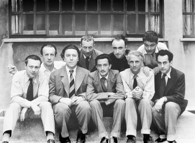 Surrealists in 1930