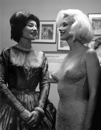 Maria Callas and Marilyn Monroe