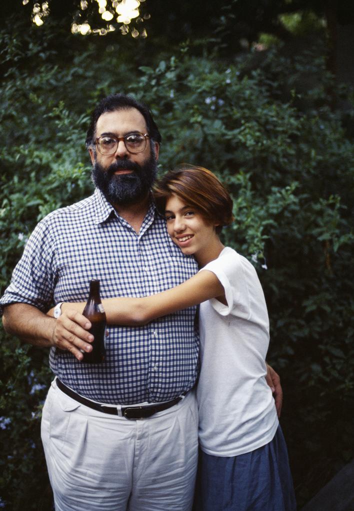 Francis and Sofia Coppola