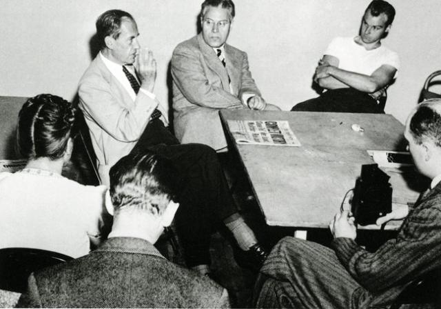 Walter Gropius and László Moholy-Nagy