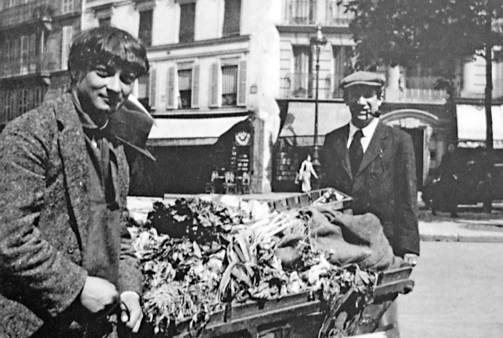 Moïse Kisling and Pablo Picasso