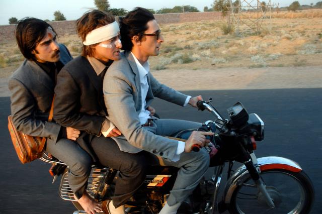 Jason Schwartzman, Owen Wilson and Adrien Brody