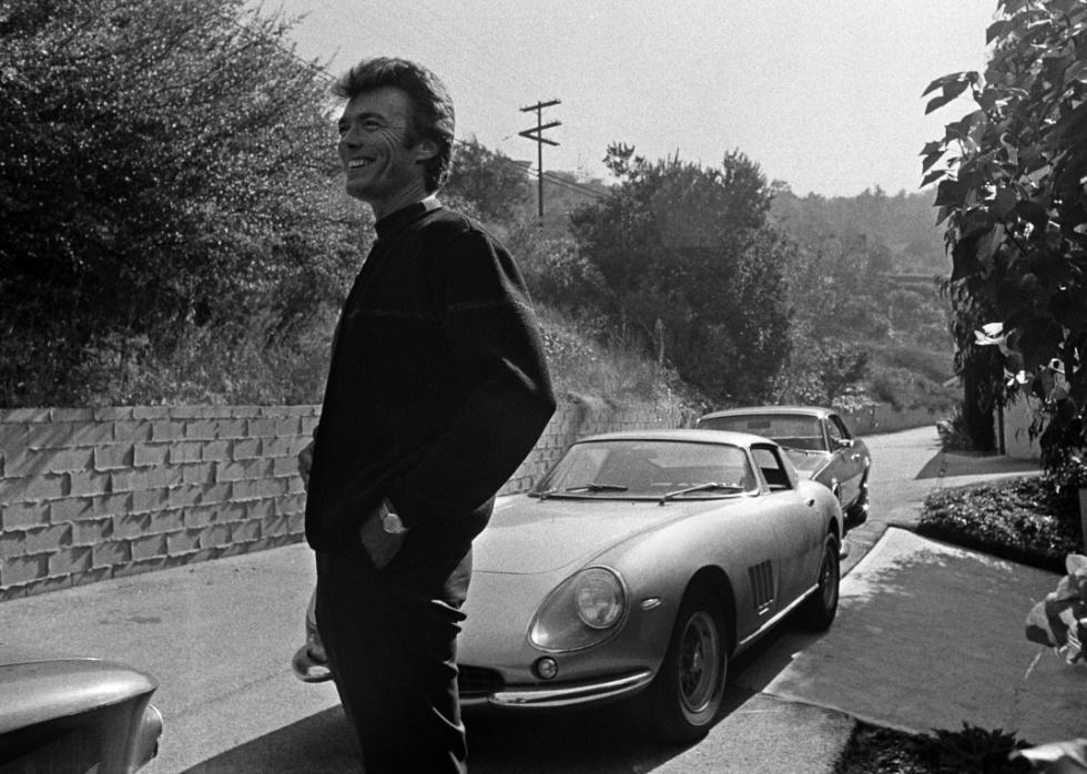 Clint Eastwood and his '67 Ferrari 275 GT/B