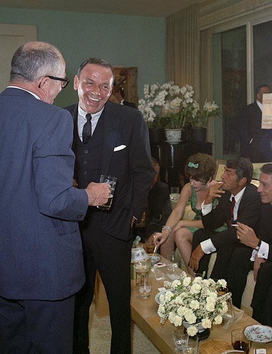 Frank Sinatra with Billy Wilder