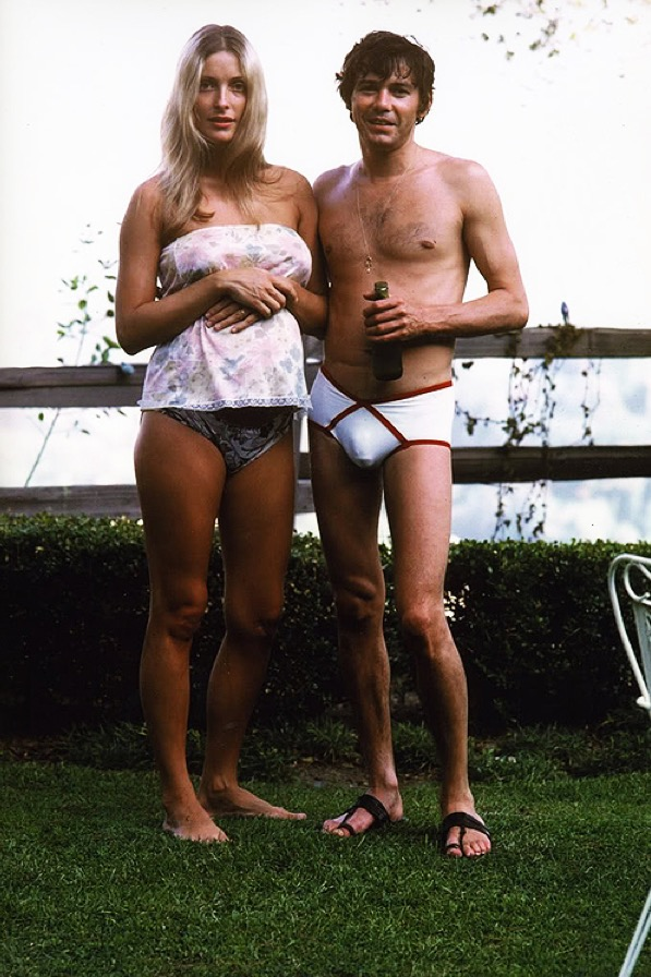 Sharon Tate with Jay Sebring