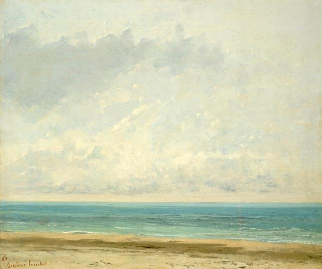 Gustave Courbet: Calm Sea