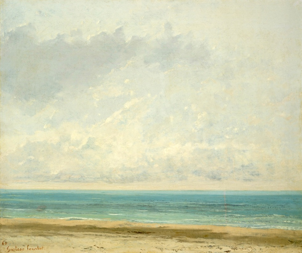 Gustave Courbet: Calm Sea