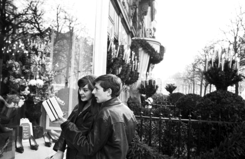 Roman Polanski & his first wife