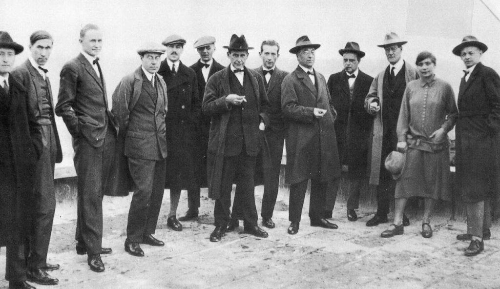 Bauhaus teachers, 1926