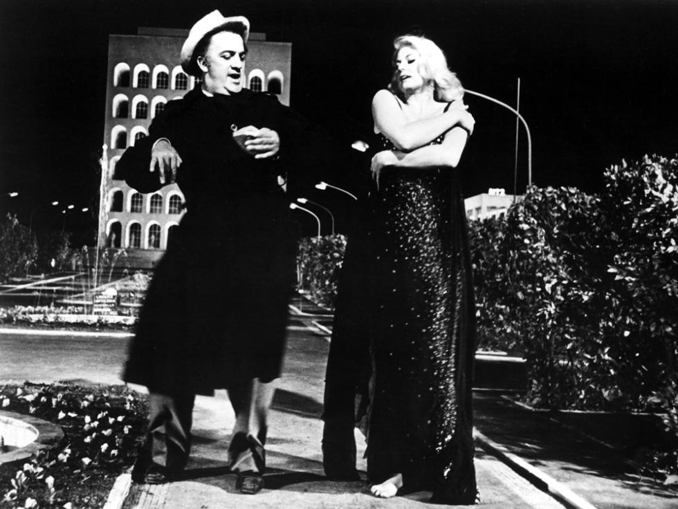 Federico Fellini, Anita Ekberg