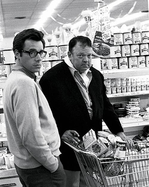 Peter Bogdanovich and Orson Welles