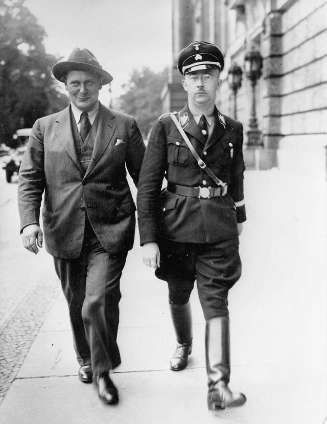 Hermann Göring, Heinrich Himmler
