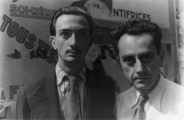Salvador Dali, Man Ray