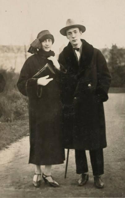 Véra Slonim with Vladimir Nabokov